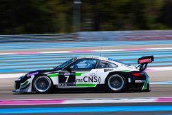 #7 HB Racing Team Herberth Porsche 997 GT3R: Daniel Allemann, Herbert Handlos, Lukas Schreier, Alfred Renauer