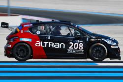 #208 Team Altran Peugeot 208 Gti: Guillaume Roman, Gaetan Bischoff, Gonzalo de Andres, Steven Palette
