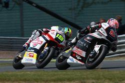 Johann Zarco, Ajo Motorsport e Xavier Siméon, Federal Oil Gresini Moto2