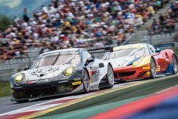 #88 Proton Competition Porsche 911 RSR: Richard Lietz, Sebastian Asch, Christian Ried