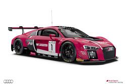 #1 Audi Sport Team WRT Audi R8 LMS