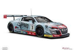 #3 Belgian Audi Club Team WRT Audi R8 LMS
