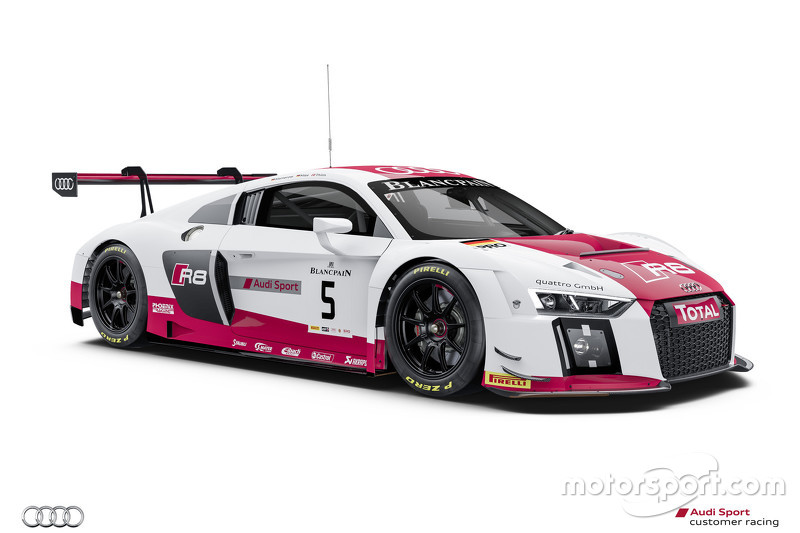 #5 Audi Sport TEam Phoenix Audi R8 LMS