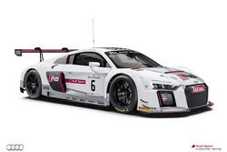 #6 Audi Sport TEam Phoenix Audi R8 LMS