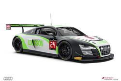 #24 Team Parker Racing Audi R8 LMS