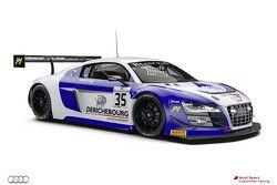 #35 Sainteloc Racing Audi R8 LMS