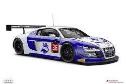 #36 Sainteloc Racing Audi R8 LMS