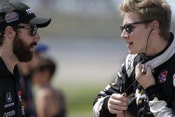 James Hinchcliffe, Schmidt Peterson Motorsports y Josef Newgarden, CFH Racing