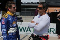 Marco Andretti, Andretti Autosport y Juan Pablo Montoya, Team Penske