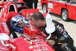 Tony Kanaan y Scott Dixon, Chip Ganassi Racing