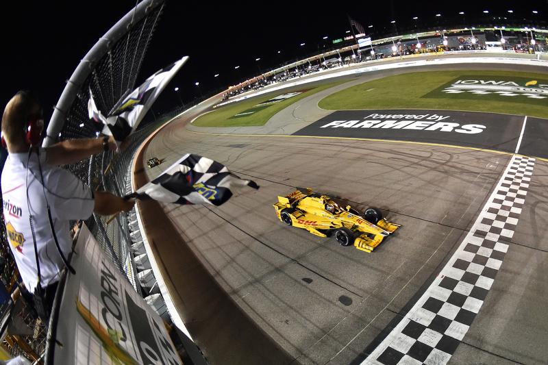 Pemenang balapan: Ryan Hunter-Reay: Andretti Autosport Honda