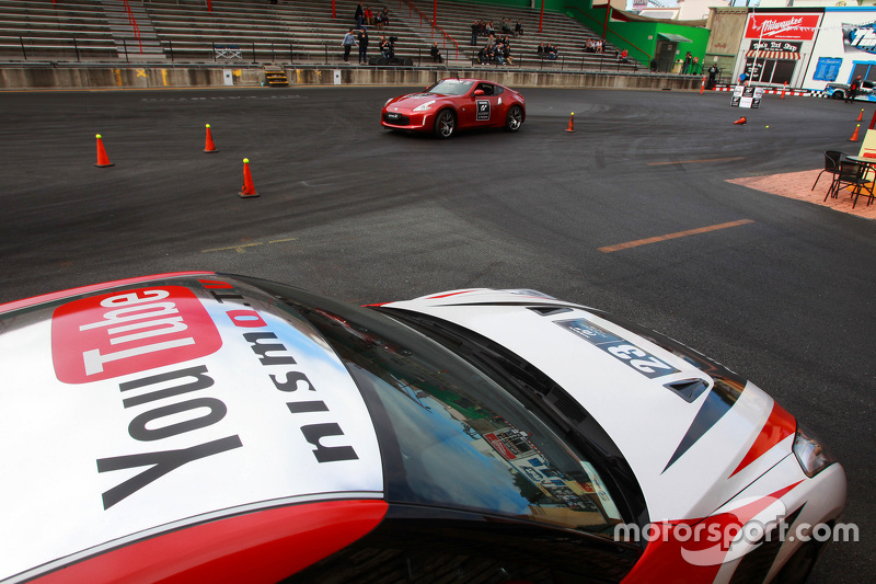 Motorkhana at the 2015 Nissan GT Academy Finals Australia