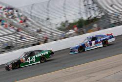 David Starr, TriStar Motorsports Toyota and Elliott Sadler, Roush Fenway Racing Ford