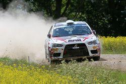 Алексей Лукьянюк и Алексей Арнаутов, Mitsubishi Lancer Evo X