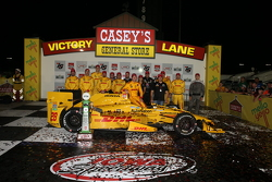 Ganador: Ryan Hunter-Reay, Andretti Autosport Honda