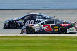 Landon Cassill, Hillman Circle Sport LLC Chevrolet y Austin Dillon, Richard Childress Racing Chevrol