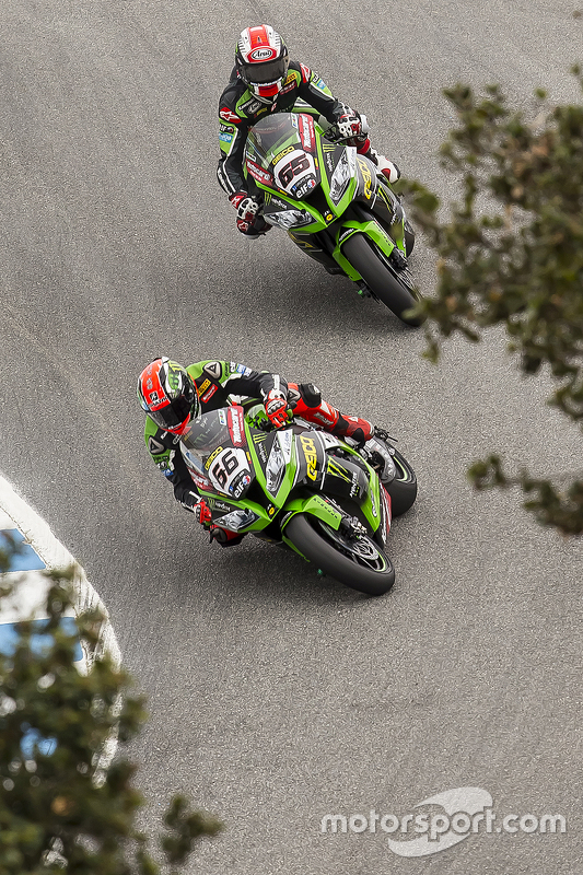 Tom Sykes, Kawasaki Racing, Jonathan Rea, Kawasaki Racing