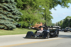 Race cars parade into Elkhart Lake for the concours 1974 Shadow DN5