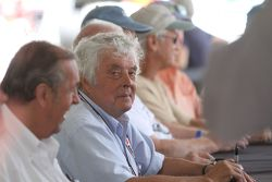 Brian Redman during the Can Am drivers autograph session