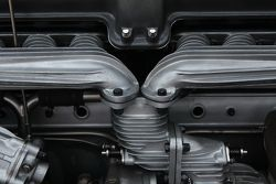 Alfa Romeo engine detail