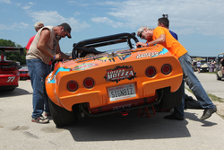 Last minute thrash 1969 Corvette