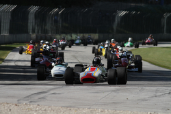 Classic Monoposto group race start