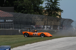 1971 Lola T165 Jim Ferro crash sequence