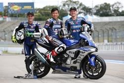 Bradley Smith, Pol Espargaro, Katsuyuki Nakasuga, Yamaha Factory Racing Team