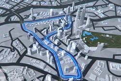 Трасса в Куала-Лумпуре