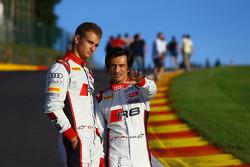 Nico Müller y Stéphane Ortelli en Eau Rouge