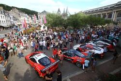 Autos llegan a Spa