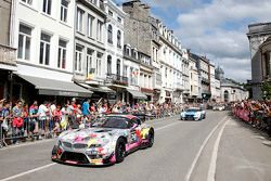 #240 BMW Racing Against Cancer BMW Z4: Pascal Witmeur, Jean-Michel Martin, Eric van de Poele, Marc D
