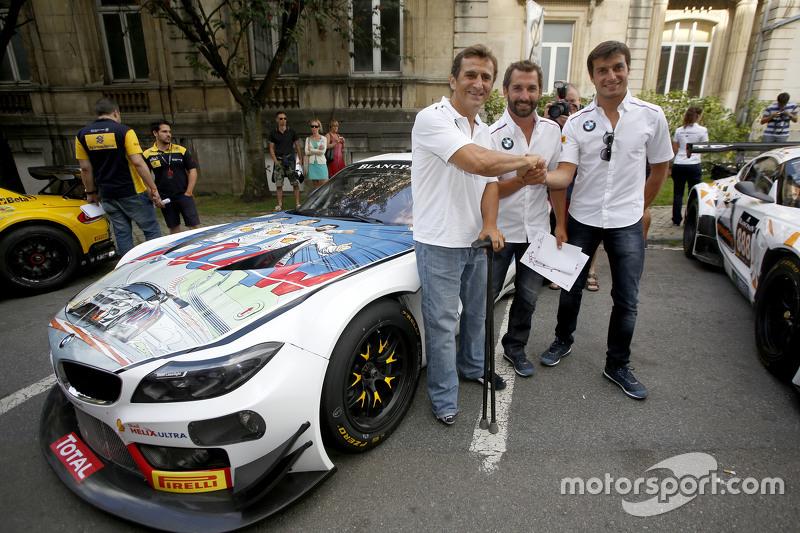 #9 ROAL Motorsport BMW Z4 : Timo Glock, Alex Zanardi, Bruno Spengler