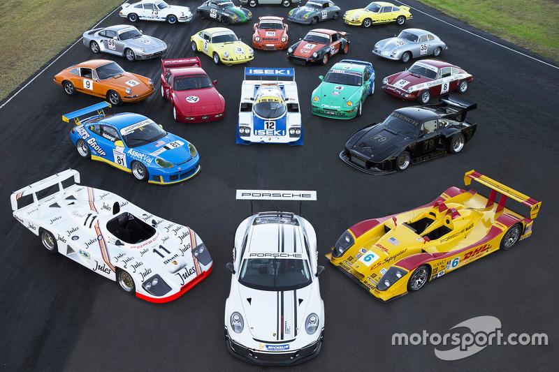 Koleksi besar dari Porsche yang bersejarah