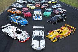 Una enorme colección de Porsches históricos