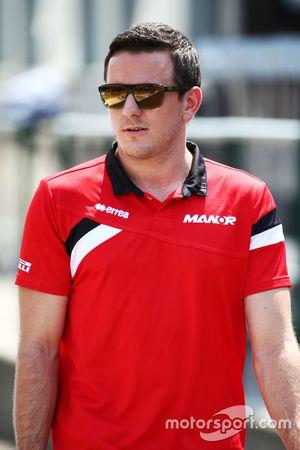 Фабио Ляймер, тестовый пилот Manor F1 Team