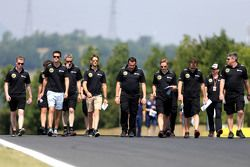 Jolyon Palmer, Lotus F1 Team, Romain Grosjean, Lotus F1 Team