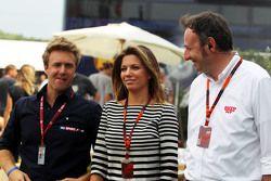 Federica Masolin, Sky F1 Italia, avec Davide Valsecchi