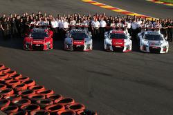 Foto Oficial equipo Audi Sport