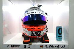 Markus Winkelhock's helmet