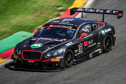 #83 Bentley Team HTP Bentley Continental GT3: Max van Splunteren, Fabian Hamprecht, Louis Machiels
