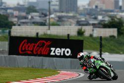 #11 Kawasaki: Gregory Leblanc, Mathieu Lagrive, Fabien Foret