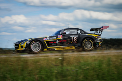 #18 Black Falcon Mercedes SLS AMG GT3: Oliver Morley, Sean Johnston, Maro Engel