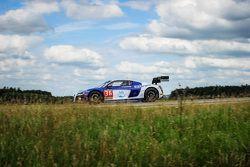 #36 Sainteloc Racing Audi R8 LMS Ultra : Mickael Blanchemain, Gilles Lallement