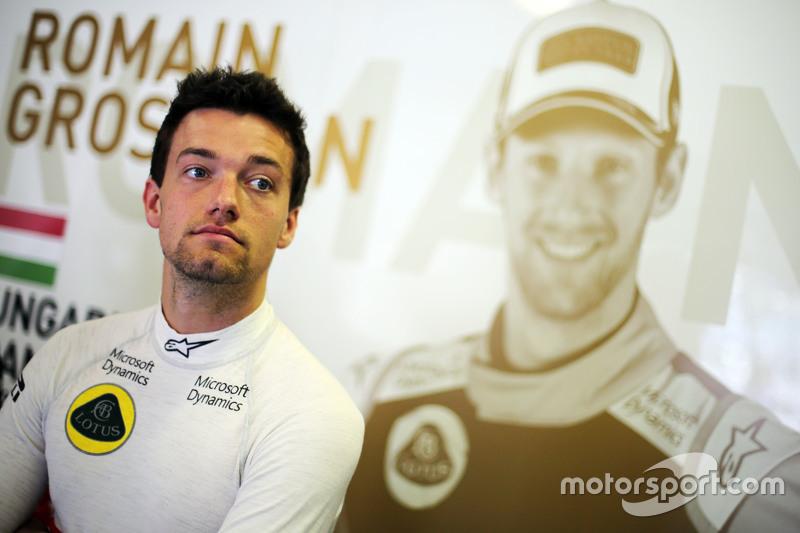 Jolyon Palmer, Lotus F1 Team piloto de pruebasy de resreva