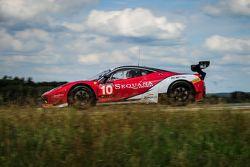#10 Akka ASP Ferrari 458 Italia : Christophe Bourret, Pascal Gibon, Philippe Polette, Jean-Philippe Belloc