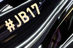 Lotus F1 E23 com tributo a Jules Bianchi