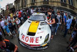 #99 Rowe Racing Mercedes SLS AMG GT3: Nico Bastian, Daniel Juncadella, Stef Dusseldorp