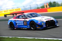 #22 Nissan GT Academy Team RJN Nissan GT-R Nismo GT3: Ricardo Sanchez, Gaëtan Paletou, Florian Strau