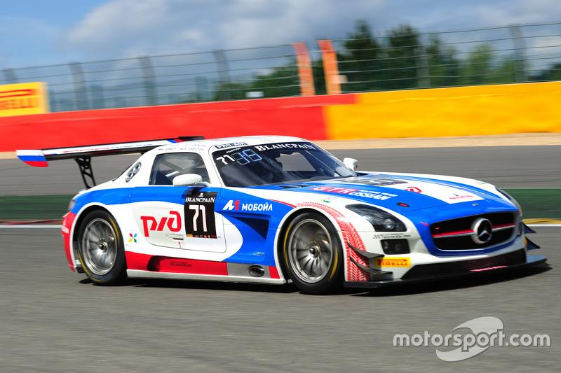 #71 GT Russian Team Mercedes SLS AMG GT3 : Alexey Vasilyev, Marko Asmer, Alon Day, Lewis Plato